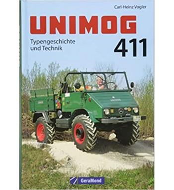 Unimog 411 Buch Typengeschichte und Technik  C.H.Vogler