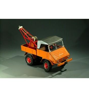 Tippco 1:20 Unimog U 411 Metallmodell  Abschleppwagen bzw. Kran
