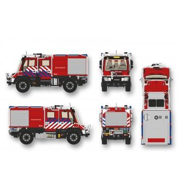 SM 1:43 Unimog U 405 UGN Feuerwehr Uetrecht