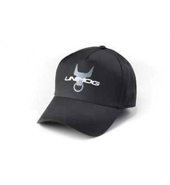 Mütze / Basecap Unimog schwarz mit Ochsenkopf .
