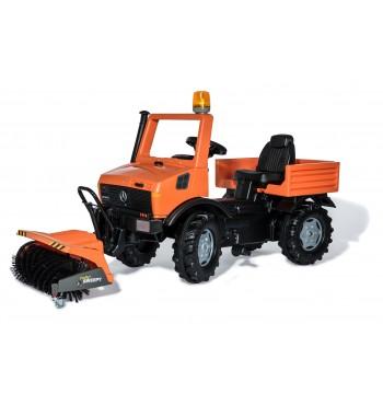 Rolly Toys Unimog Kommunal mit Kehrmaschine