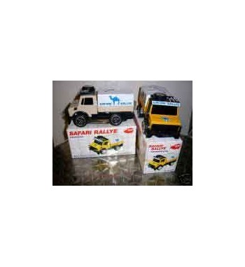 Dickie Unimog Safari mit Friktionsantrieb