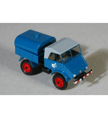 Epoche 1:87 Unimog U 411  Sprengwagen Quackernack
