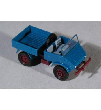 Epoche 1:87 Unimog U 411  Sprengwagen blau
