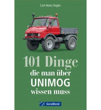 Buch: 101 Dinge die man über Unimog Wissen muss