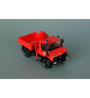 Roco 1:87 Unimog U 1300L Merk Feuerwehr Werksfeuerwehr
