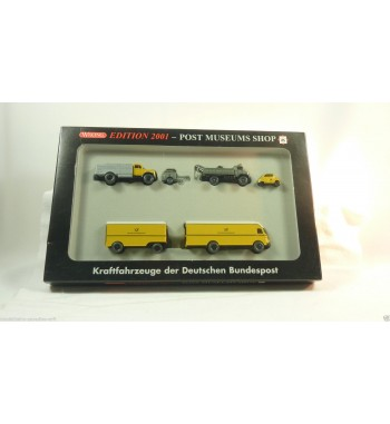 Wiking 1:87 Post Museums Shop 2001 mit 404S