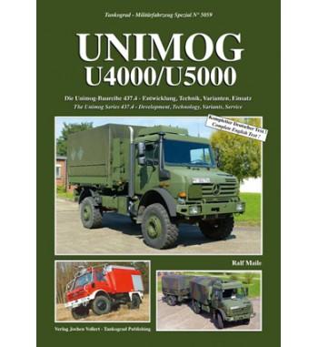 UNIMOG U4000/U5000 Die Unimog-Baureihe 437.4 - Entwicklung, Technik, Varianten, Einsatz