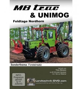 DVD MB trac & Unimog - Sonderthema Forsteinsatz